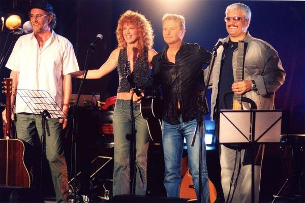 Pino Daniele, Francesco De Gregori, Fiorella Mannoia, Ron